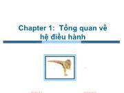 Bài giảng Hệ điều hành - Chương 1: Tổng quan về hệ điều hành - Trần Thị Như Nguyệt