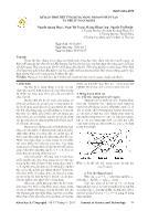 Dự báo thời tiết ứng dụng mạng nơ ron nhân tạo và thuật toán Bayes