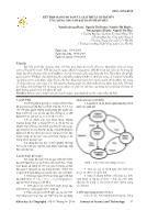 Kết hợp mạng nơ ron và giải thuật di truyền ứng dụng cho lớp bài toán nhận mẫu
