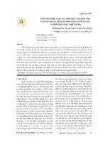 Phân tích hiệu năng của kiến trúc Internet Web Caching nhở sử dụng mô hình mạng Petri có màu và thời gian ngẫu nhiên (SCPN)