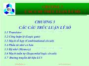 Bài giảng Hệ thống máy tính và ngôn ngữ C - Chương 3: Các cấu trúc luận lý số